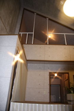 整体院高い天井